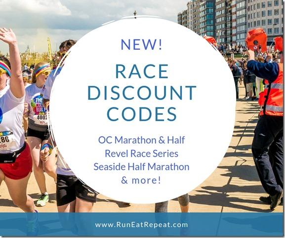 Race Discount Code Page Run Eat Repeat