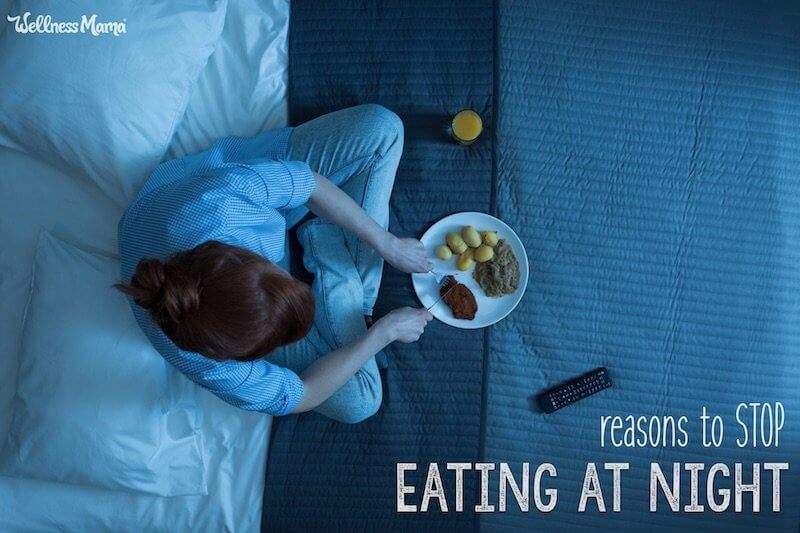 stop snacking at night