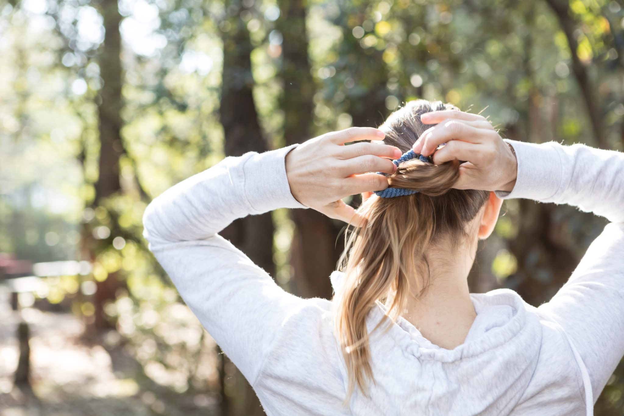 right hairstyle to prevent hair loss